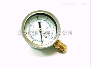 供应FTB直立式323.11压力表(0-400kg/cm2)
