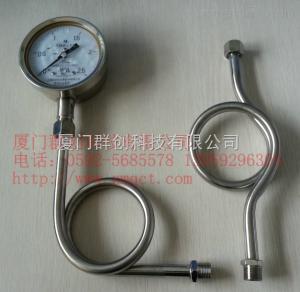 YTN-100H 全不锈钢耐震压力表