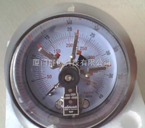 供应德国wiebrack硫化机用埋入式电接点压力表EPG100-400K/P