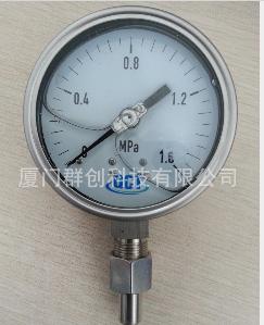 供應廈門QCT優質YTN系列全不銹鋼耐震壓力表