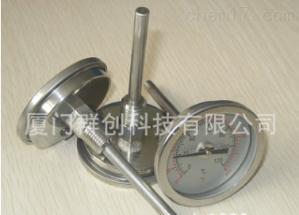 供應臺灣全不銹鋼雙金屬溫度計WSSF-203