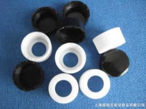 100個/包 螺紋口頂空瓶開孔蓋