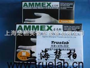 100支/盒 進口無粉抽拉式一次性乳膠手套