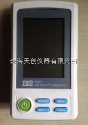 台湾泰仕大屏PM2.5空气质量检测仪TES-5321