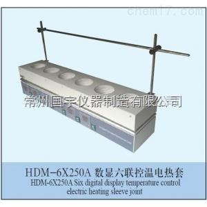 HDM-6*250A数显六联控温电热套