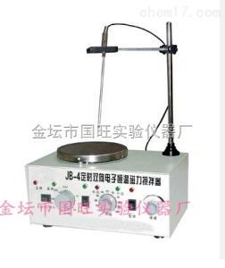 JB-4 定时双向恒温磁力搅拌器(电子控温)