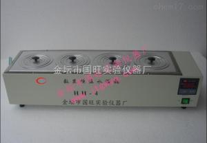 HH-4 单列四孔水浴锅/四孔恒温水浴锅