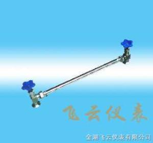 不銹鋼管式帶扣304玻璃管液位計