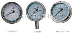 不锈钢膜盒压力表YTFE100 YTFE150 不锈钢膜盒压力表YTFE100 YTFE150