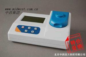 型號:CN61M/CJ3GDYS201M(特價) 多參數水質分析儀(15參數:余氯、總氯、濁度、氟化物、亞硝酸鹽氮、鐵、錳、溶解氧、六價鉻、硫化物、氨