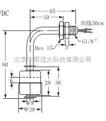 小型金屬浮球開關 型號:fb14-XD-11M1 庫號:M229314