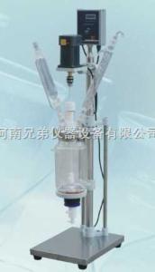 S212-2L 双层玻璃反应釜|报价|价格|参数-S212-2L-厂家直销,1至3年质保