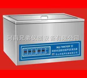 KQ-500GVDV双频恒温数控超声波清洗机