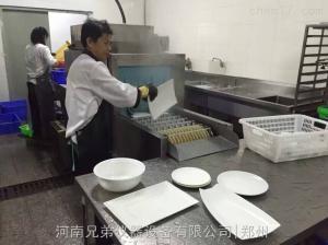 XD-10000 酒店专用超声波洗碗机|自助餐长龙式洗碗机-生产厂家
