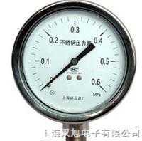 不锈钢压力表Y-63B-F