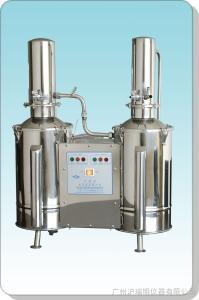 上海三申DZ20C 不銹鋼電熱蒸餾水器操作原理 不銹鋼電熱蒸餾水器批發價格