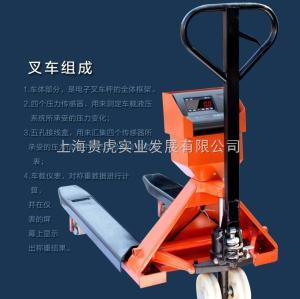 GH-YCS 不銹鋼電子叉車秤,電子叉車稱2噸