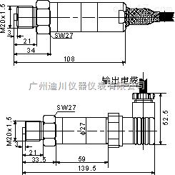 DFL 高溫壓力變送器