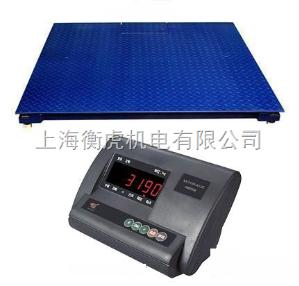 SCS 2吨平台秤价格/3T小地磅/称钢材电子秤价格