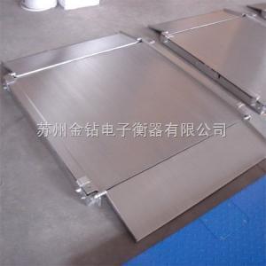 TCS-300 台面不锈钢防水秤,300千克防水台秤,太仓500公斤防水秤报价