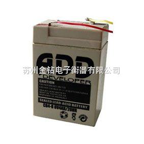 LIH 免维护可充电蓄电池,电子秤专用电池,6V4A电池,6V h,12V7Ah