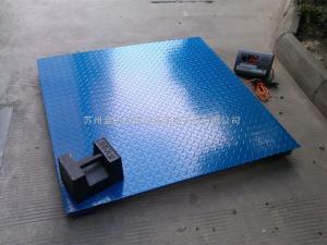 苏州2吨电子称地磅 3吨地磅价格 3000kg电子平台秤地磅秤【热卖】