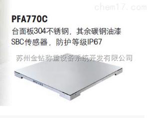 托利多电子地磅PFA770C系列3t电子地磅