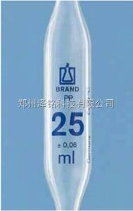 普兰德 PP材质胖肚单刻度移液管/进口高透明度胖肚单刻度移液管