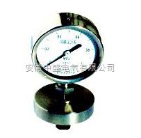 不锈钢隔膜耐震压力表具体参数