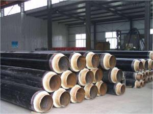 城镇乡村暖气管道预制式聚氨酯供暖发泡直埋蒸汽保温管施工指导