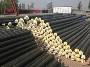 新建小区暖气管道预制式硬泡闭孔聚氨酯直埋绝热保温管施工指导
