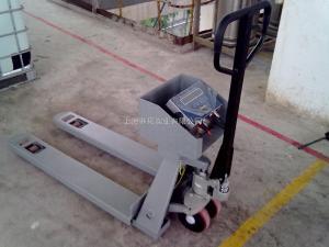 YCS 1T地牛秤,全不锈钢电子叉车秤,防腐液压叉车秤