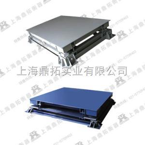 SCS 抗冲击5T电子磅称,上海不锈钢双层电子地磅秤