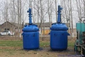 回收二手1-15立方搪瓷反应釜