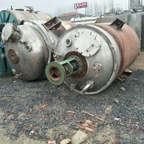 全国回收二手内盘管反应釜