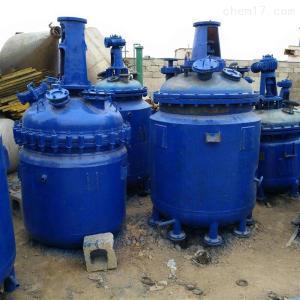型号不限 大量回收化工厂1吨搪瓷反应釜