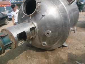 型号不限 常年回收1吨常压不锈钢电加热反应釜