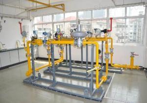 VS-LYRQ01 燃气管道及附属设备安装实训装置