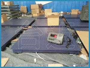 TM-SCS 3噸電子地磅,多臺秤接電腦數據傳輸