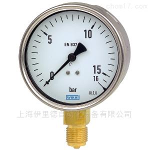 212.20 波登管坚固耐用的工业级威卡Wika压力表