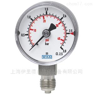 干洁气源(CDA)应用131.11威卡wika压力表