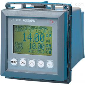 6309PDT 美国JENCO任氏在线式pH计、DO、温度分析仪
