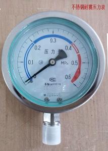 YB-100不锈钢压力表价格