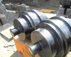 M1级 大吨位铸铁砝码铸造厂- 2吨圆形砝码