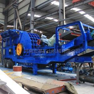 时产200吨配置型号,流动式破碎机价格多少