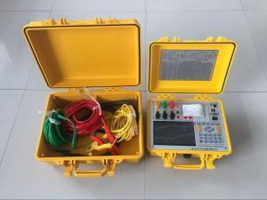 彩屏式有源容量特性参数测量仪