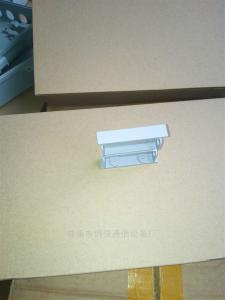 钢强 16芯分光器固定器卡槽二槽位插片式插槽外壳