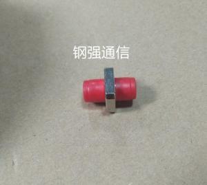 钢强 FC光纤连接器适配器电信级fc方型藕合器