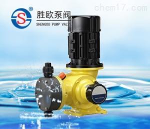 GB精密机械隔膜式计量泵