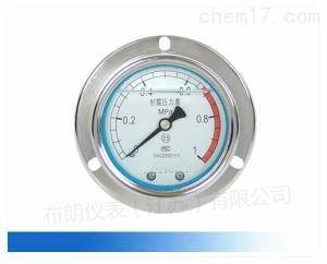 YCN-50/100TQ ZQ 径向轴向带边船用耐震压力表